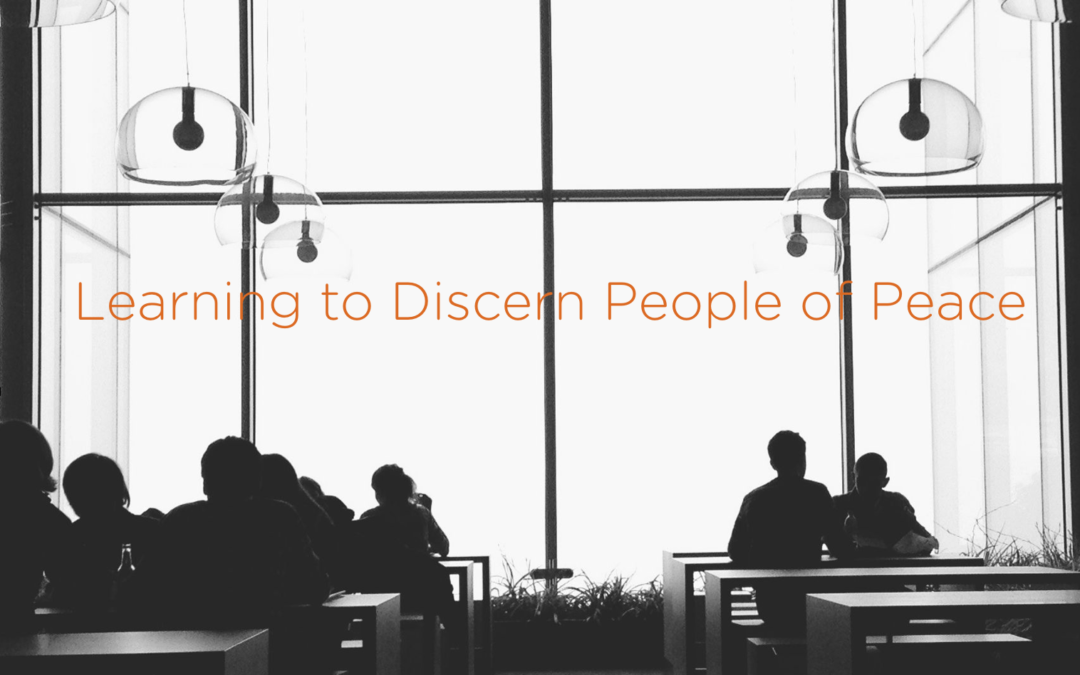Learning to Discern People of Peace