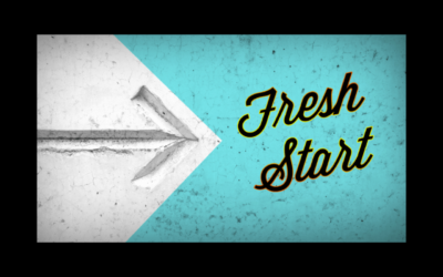 Fresh Start in our Relationships with God and Others