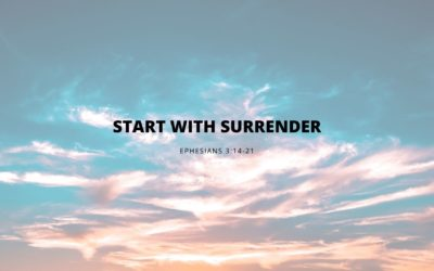 Start With Surrender